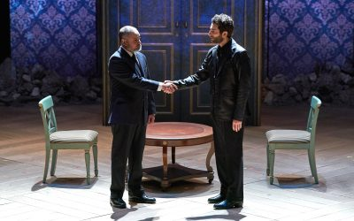 """Theater Review: """"Oslo"""""""