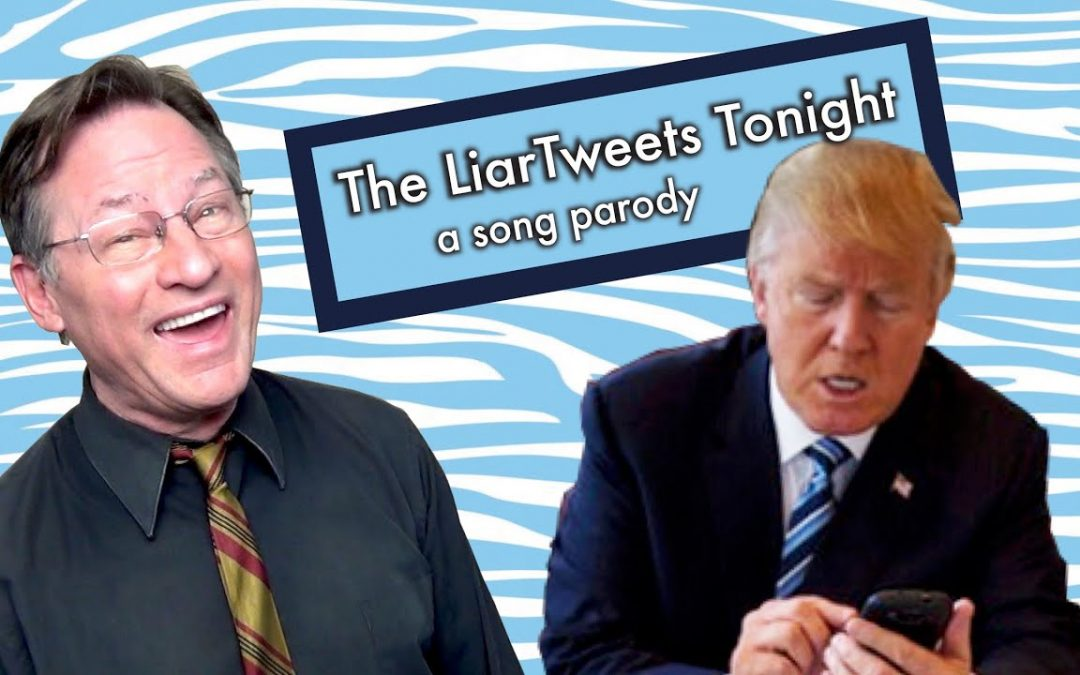 In The White House The Liar Tweets Tonight