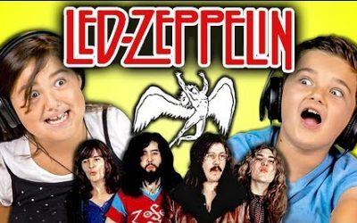 POTD: Kids React To Led Zeppelin