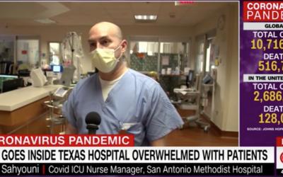POTD: Inside A Hospital COVID-19 Unit